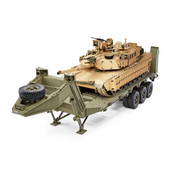 HG P806 TRASPED 1/12 Heavy Equipment Semi Trailer DIY Kit for U.S M747 RC Model