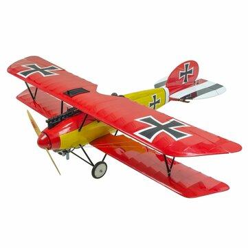 Dancing Wings Hobby SCG31 Albatross  Dr.III 1.8M 1800mm Wingspan Balsa Wood Scale Biplane RC Airplane ARF with Cover Film