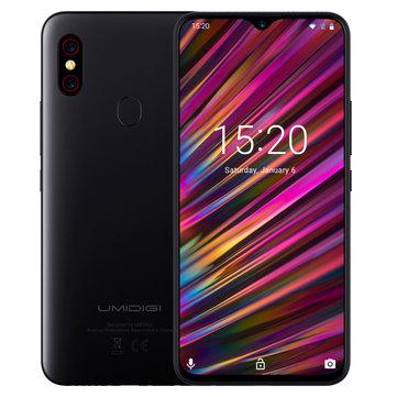 UMIDIGI F1 Android 9.0 bandas globais 6.3 polegadas FHD + NFC 5150mAh 4GB 128GB Helio P60 4G Smartphones Smartphone de Telemóveis e Acessórios na Banggood.com