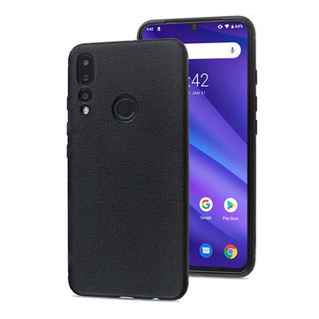 Bakeey Shockproof Anti-finerprint Soft Silicone Back Cover Protective Case for UMIDIGI A5 Pro