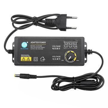 KJS-1509 3-24V 2.5A Power Adapter Adjustable Voltage Adapter LED Display Switching Power Supply