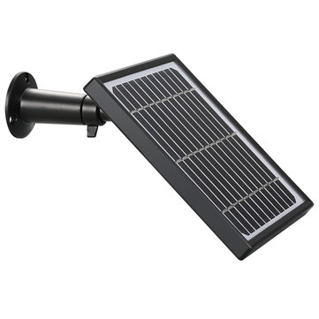 Hiseeu Waterproof Solar Panel for Wireless Rechargeable Battery IP Camera