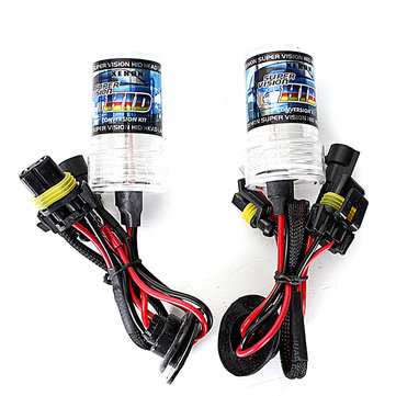 Pair 12V 55W H7 HID Car Headlights Xenon Lamp Bulbs 3000K-30000K 4600LM-2600LM