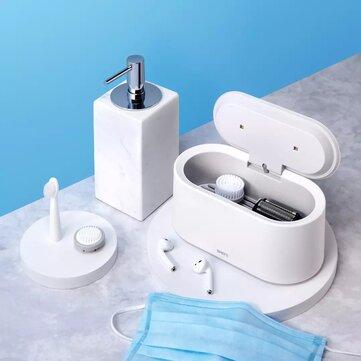 SMATE SX 01 White UV LED Light Drying Sterilizer 99.9 pencent Sterilization Three Modes One Button Operation