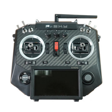 FrSky Horus X10S 16 Channels RC Drone Transmitter Mode 2 MC12plus Gimbal Carbon Fiber Panel