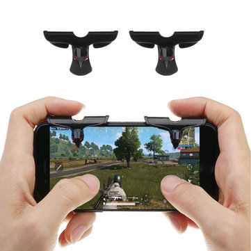 Bakeey Gaming Trigger Shooter Controller Touch Screen Mobile Gamepad Joystick for Smartphoens