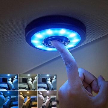 LED Cabinet Light Car Roof Magnet Ceiling Lamp Universal Vehicle Interior USB Reading Lighting