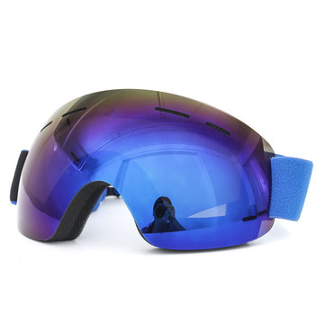 Mens Womens Ski Snowboard Goggles Unisex Anti Fog UV Double Lens Snow Goggle