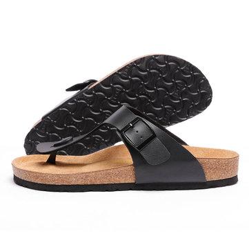 Aishoes Classic Cork Summer Flip-flops Sandals Slippers Outdoor Summer Beach Slipper Casual Sandals From Xiaomi Youpin