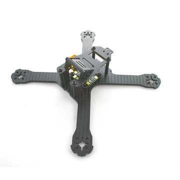 Realacc X210 214mm 3mm/4mm Carbon Fiber FPV Racing Frame w/ Matek PDB-XT60 5V & 12V