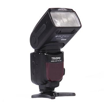 Triopo TR-950 Flash Speedlite for Canon EOS 5D Mark ii iii 6D 7D 50D 60D 70D 450D 550D 600D 650D 700D 1100D