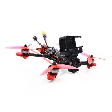 GEPRC Mark4 6S 5Inch 225mm Wheelbase SPAN F722 HD Flight Controller BLHeli_S Dshot1200 ESC Support 3-6S Lipo 2306.5 1850 Motor PNP/BNF Freestyle RC FPV Racing Drone