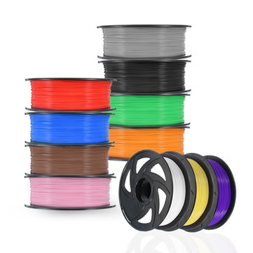 1KG 1.75mm Mutil-Color PLA Material Filament For 3D Printer