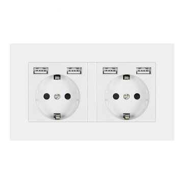 How can I buy Double Wall Power Socket Plug Grounded 16A Socket with USB Outlet Strip PC Panel with Bitcoin