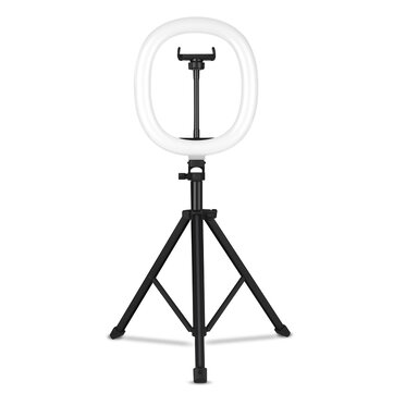 MZ-10 10 Inch Integrated Telescopic Folding Live Fill Light with Tripod Phone Holder 600LM 95 CRI 3 Light Modes 10 Brightness Level Dimmable LED Ring Light for Makeup Photography YouTube Videos Vlog TIK Tok Live for sale in Litecoin with Fast and Free Shipping on Gipsybee.com