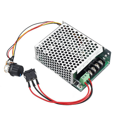 Industrial Electrical PWM Brush Motor Speed Controller CW CCW ...