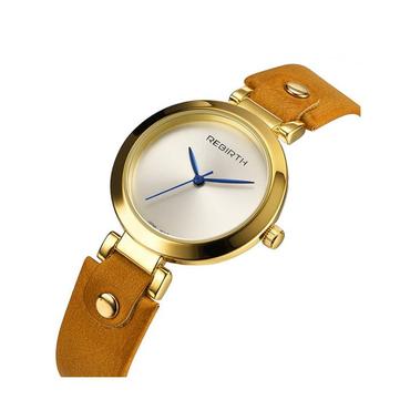 TÁI SINH RE024 Đồng hồ đeo tay nữ kiểu dáng đơn giản Thiết kế thanh lịch Đồng hồ thạch anh