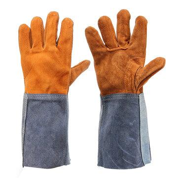 Găng tay hàn Công nhân Soft Da bò Plus Găng tay bảo vệ tay