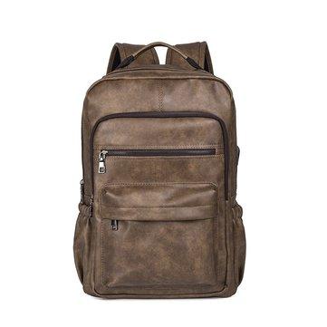 Faux Leather Laptop Bag Ba lô vai cho nam giới