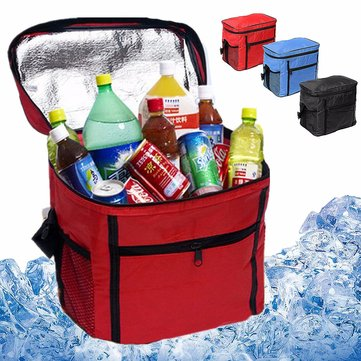 IPRee® Portable Oxford Thermal Cooler Insulated Tote Waterproof Picnic Lunch Food Ice Bag