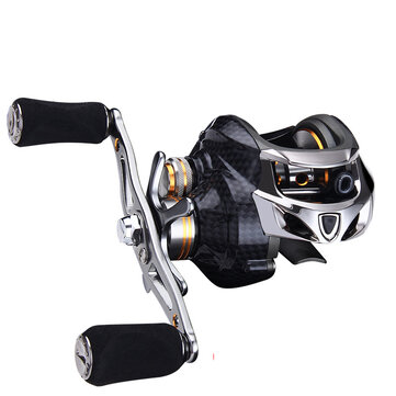 ZANLURE TAI A113  1 18+1BB Carbon Fiber Baitcasting Fishing Reel 8KG Drag Left or Right Hand Fishing Wheel