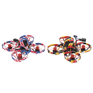 20% OFF for Eachine US65 DE65 nincs 65mm 1-2S Brushless Whoop FPV Racing Drone BNF CrazybeeX F4 FC CADDX ANT Cam 0802 14000KV Motor