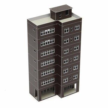 Mô hình cà phê Outland mô hình tòa nhà kinh doanh cao hiện đại cho tòa nhà GUNDAM