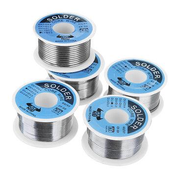 DANIU 100g 63/37 Tin Lead Rosin Core 0.5-2mm 2% Flux Reel Laslijn soldeerdraad