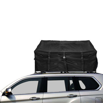 47 24x35 43x16 93inch 600D Oxford Car Roof Top Rack Bag Luggage Storage Cargo Carrier Bag Waterproof UV proof Outdoor Camping Travel Organizer
