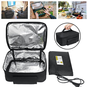 110/220V Electric Mini Portable Lunch Bag Oven Instant Food Heater Heating Warmer