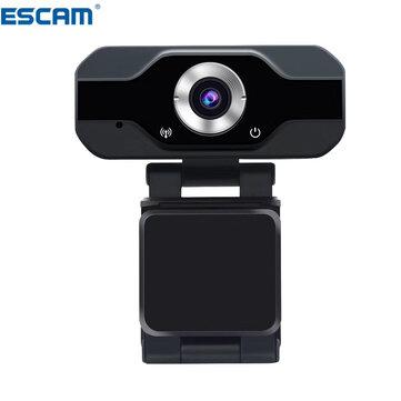 ESCAM PVR006 1080p 2MP H.264 Portable Mini Webcam HD 1080p Web PC Camera Convenient Live Broadcast with Microphone Digital USB Video Recorder