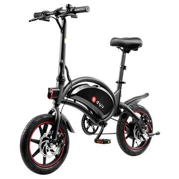 [EU Direct] DYU D3F 10Ah 36V 250W Folding Moped Electric Bike