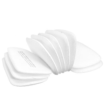10Pcs 5N11 Gas Mask Filter Cotton Filters Cartridge Mask Respirator Replace