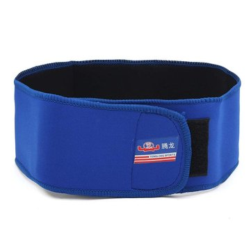 Adjustable Elastic Lumbar Support Brace Spine Waist Pain Relief Breathable Lower Back Belt