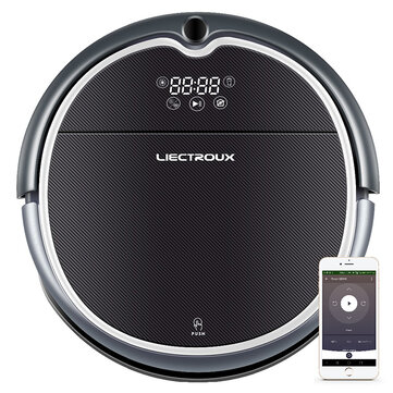 $215.99 for LIECTROUX Q8000 2 in 1 Robot Vacuum Cleaner, WiFi App, 2D Map Navigation, Suction 3000Pa, Memory, Wet Dry Mop
