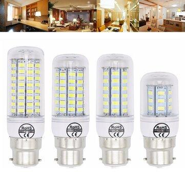 B22 5 W 6 W 7 W 8 W 10 W 12 W Ultra Brilhante SMD5730 LED Corn Lâmpada Lâmpada Candelabro Luz AC110V