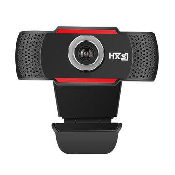 HXSJ S80 1080P USB Webcam 30fps Built-in Mikrofon Derajat Disesuaikan Kamera Komputer
