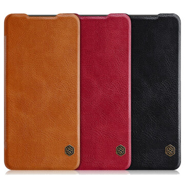 NILLKIN Qin Flip Credit Card Slot Smart Sleep PU Leather Protective Case For Huawei P30Cases & LeatherfromMobile Phones & Accessorieson banggood.com
