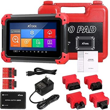 XTOOL X100 PAD OBD2 Auto Key Programmer Diagnostic Scanner Tools Car Automotive Code Reader IMMO EPB TPS Oil DPF BMS Reset Odometer EEPROM Update Online