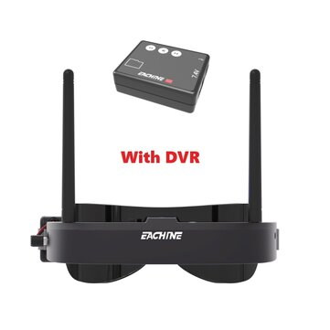 $10 OFF for Eachine EV100 720*540 5.8Ghz 72CH FPV Goggles with 1280*480 Mini DVR Built-in Battery For RC Drone