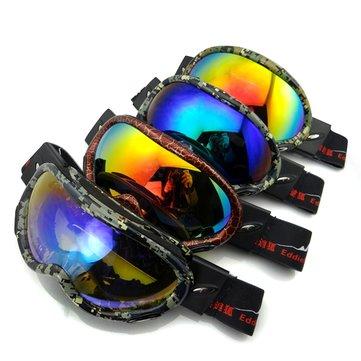Galvanoplastia Anti gafas antiniebla equipadas con Gafas gafas de escalada resistentes al viento Impermeable
