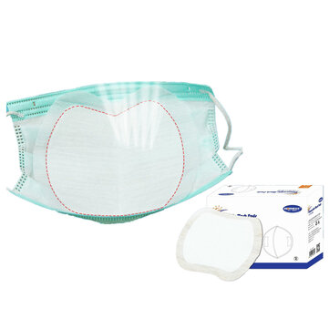 Buy 50Pcs/pack 3 Layers Disposable Face Mask Pad Nonwoven Breathable Isolation Filter Pads with 1 on Gipsybee.com