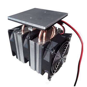XD-6028 12V 10A Semiconductor Cooling Equipment Small Refrigerator High Power Radiator System Small Electronic Cooler No Power Supply