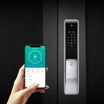 xiaomi mijia aqara s2 smart c grade door lock fingerprint