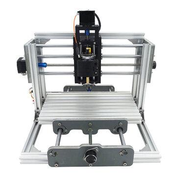 2417 Bộ định tuyến 3 trục Mini DIY CNC Gỗ Thèm khắc Cắt Phay Máy tính để bàn Máy khắc 240x170x65mm