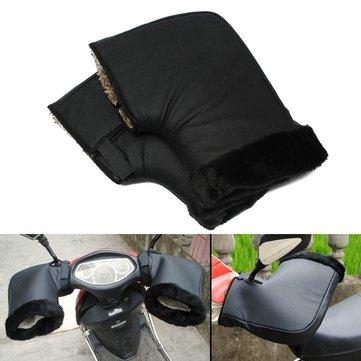 Xe máy không thấm nước mùa đông ấm tay cầm bảo vệ Muffs Găng tay