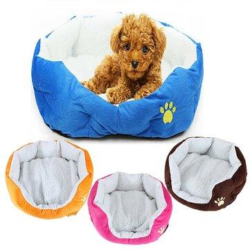 Небольшой размер флис мягкие теплые собака кошка коврики коврик кровать