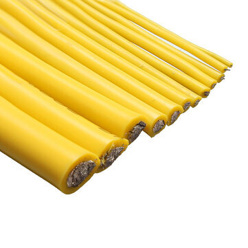 Yellow 1M 8/10/12/14/16/18/20/22/24/26/28/30 AWG Silicone Wire SR Wire
