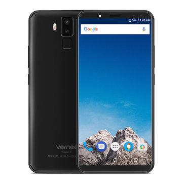 Vernee X 6.0 Inch 18:9 6200mAh 6GB RAM 128GB ROM MT6763 Helio P23 Octa Core 2.0GHz 4G Smartphone