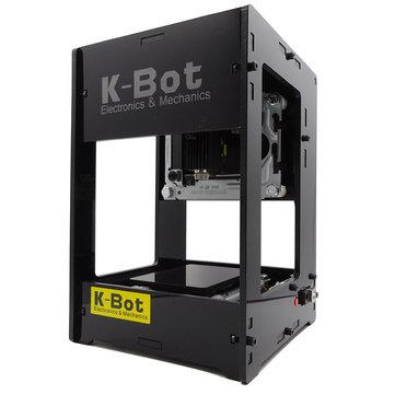 K-Bot V3s 1600mW Mini Laser Engraving Machine DIY Laser Engraver Printer with Cooling Fan